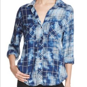 New Bella Dahl medium Acid Wash Flannel